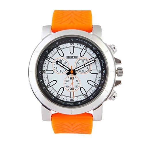 sparco-reloj-man-james-naranja-42-mm