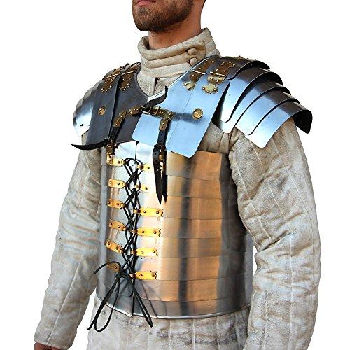 Roman Soldier Military Lorica Segmentata Body Armor By -