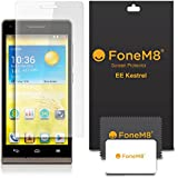 FoneM8� - New EE Kestrel 4G Smartphone Screen Protector (5 Pack) Includes Microfibre Cleaning Cloth