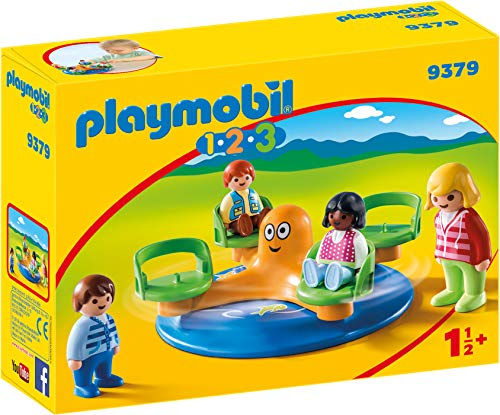 Playmobil- 1.2.3 Carrusel Infantil Juguete