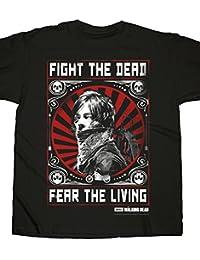 Walking Dead - T-Shirt Daryl Dixon Fight Poster (XL)