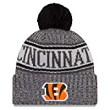 New Era NFL Cincinnati Bengals 2018 Sideline Graphite Sport Knit