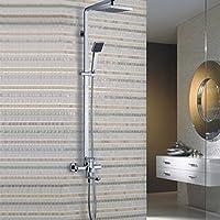 BL Imposta placcatura grande doccia superiore in lega di zinco-bagno
