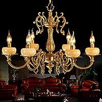 FY Lampadario stile Jane ottone lampadari in ottone lampada vintage