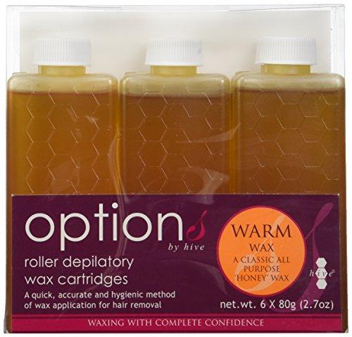 Hive Options - Lote 6 botes cera depilación 80 gramos