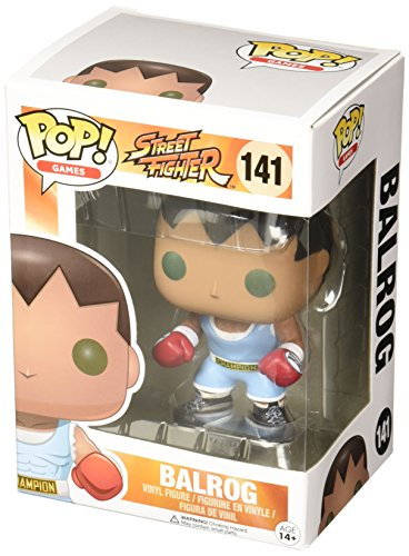 POP! Vinilo - Games: Street Fighter: Balrog