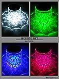 2 x Glas-Solarleuchte LED ww o. farbwechselnd Tischleuchte