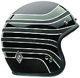 Bell Helmets Street 2015 Custom 500 Carbon Casco Adulto, color Negro (Rsd Talladega), talla XL