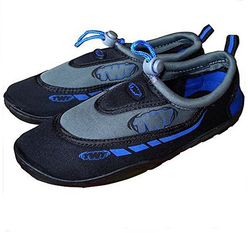 TWF Graphic Wetshoes Dark Blue Size UK 9