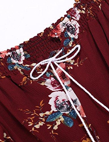cooshional - Combinaison - Femme rouge bordeaux