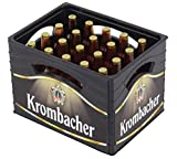 Krombacher Flaschenöffner Mini-Bierkiste mit 20 Flaschen Design Pils Theke Tresen Bar Party Keller Deko Accessoire