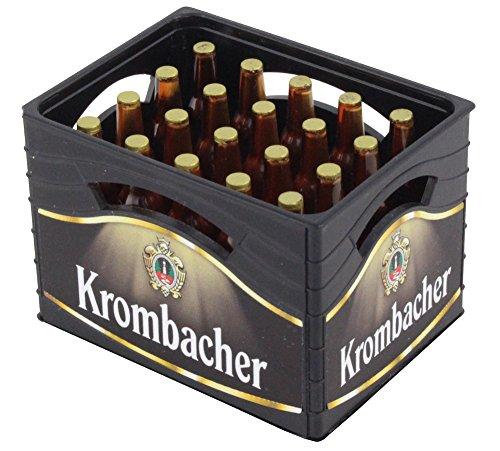 Krombacher Flaschenöffner Mini-Bierkiste mit 20 Flaschen Design Pils Theke Tresen Bar Party Keller Deko Accessoire