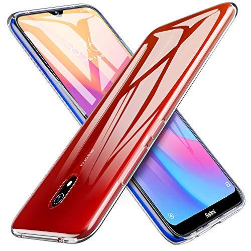 TPU iBetter Slim Slim para Xiaomi Redmi 8A Capa, Capa de silicone transparente à prova de choque, para Xiaomi Redmi 8A Smartphone. Transparente transparente