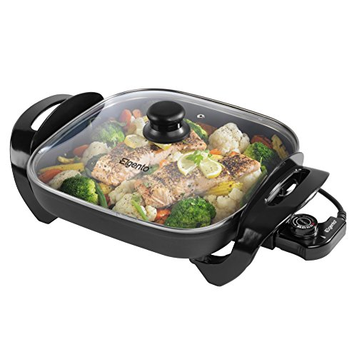 Elgento E14024 Electric Frying Pan, 1500 W, 30 cm - Black