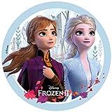 Disney NEU Tortenaufleger Frozen 2 Eiskönigin Anna ELSA ohne Zucker und Palmöl, Glutenfrei