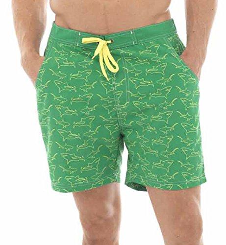 IMTD - Short de bain - Homme XXL Vert - Vert