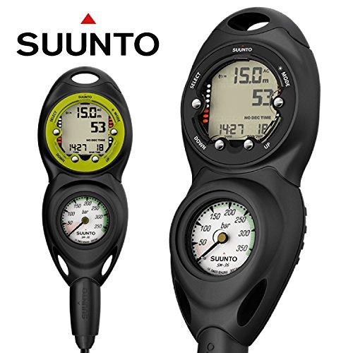 Suunto Dive Combo Konsole CB-2 IN LINE, 300 bar Druckmesser und Zoop Novo, black 2 Line Analog