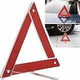 Sedeta® Warndreieck Reflektor Sicherheitsdreieck Kit Gefahrenzusammenbruch Road Board Rotes reflektierendes Dreieck-Zeic
