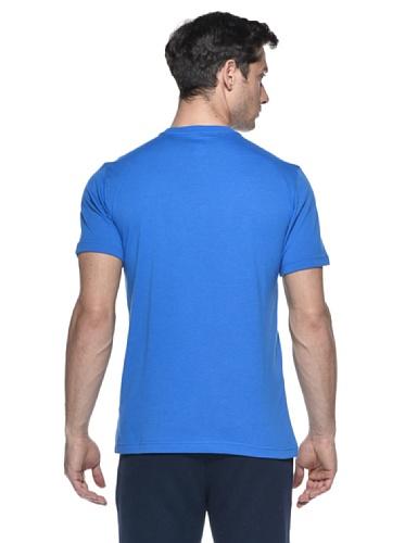 Adidas Maglietta Basketball Blu/Arancio