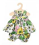 Heless 830 Sommerkleid für Puppen, Farbenfrohes, Größe 35 - 45 cm