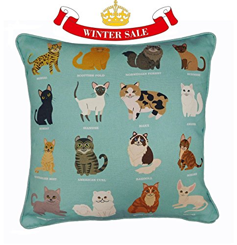 royal-cat-breeds-original-design-uk-handmade-cushion-cover-pillow-case-for-home-decor-playful-cats-c