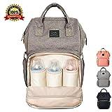 Baby Wickeltasche, Ticent Multifunktions Wasserdichter Reiserucksack Umhängetasche Windelbeutel Windel Taschen für Baby-Pfleg