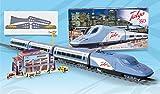 Tren Electrico Talgo 350 Super Circuito de 6,6 m Estacion y Personajes