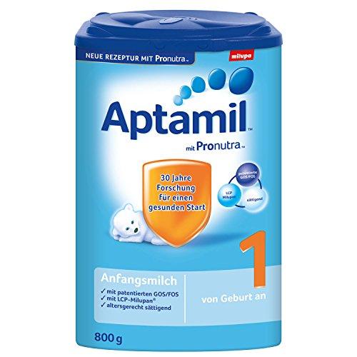 Aptamil 1 Anfangsmilch mit Pronutra, 9er Pack (9 x 800g)