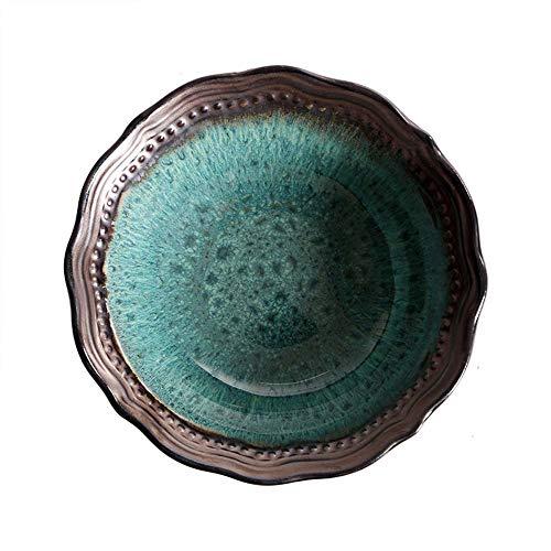 5 Stück Geschirrset, Salatschüssel/Suppenschüssel / Reisschüssel/Obstschale Verbrühschutz Haushalt, Porzellan 7 In
