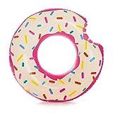 Schwimmring / Schwimmreifen angebissener Donut und Streuselmuster ca. 107 x 99 cm