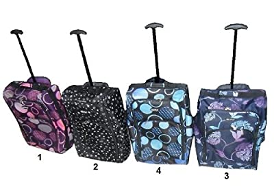 RyanAir Cabin Size Lightweight Hand Luggage Carry On Bag Trolley Suitcase