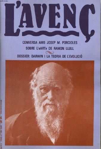 L'AVENC, REVISTA D'HISTORIA, N°48, ABRIL 1982, dOSSIER : DARWIN I LA TEORIA DE L'EVOLUCIO. EN EL CENTENARI DE LA MORT DE CHARLES DARWIN (1809-1882) PER SANTIAGO RIERA I TUEBOLS. L'ERA REAGAN CONTRA DARWIN PER FERRAN MASCARELL... par COLLECTIF