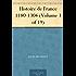 Histoire de France 1180-1304 (Volume 3 of 19)