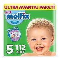 Molfix 3D Bebek Bezi, Junior 5 Beden