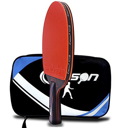 Caleson Table Tennis Racket With Double Carbon Blade Pen Hold Grip Buy Online In Bahamas Caleson Products In Bahamas See Prices Reviews And Free Delivery Over Bsd80 Desertcart