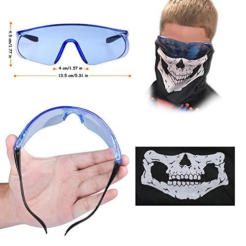 Artensky Gilet tattico Regolabile con Tasche portaoggetti Accessori per Occhiali per Nerf N