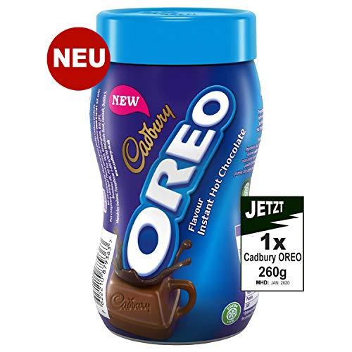 Cadbury Oreo Flavour Instant Hot Chocolate 260g - Heisse Oreo Trink Schokolade (Oreo-schokolade)