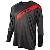 5b6e426a8 O Neal Oneal Grey-Red 2018 Stormrider Long Sleeved MTB Jersey