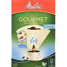 Melitta Gourmet Sacs filtrants 1x 4, doux, arôme Soft Structure Marron naturel, 80pièces