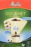 Melitta caffè gourmet filtri 1x4 delicato, aroma struttura morbida, naturale Brown, confezione da 80