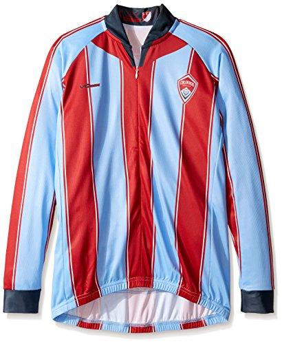 VOmax MLS Damen Original Striped Long Sleeve Jersey, Damen, blau, X-Large