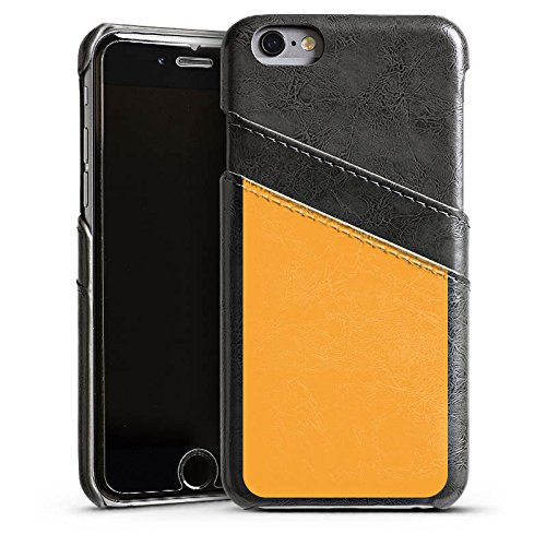 Apple iPhone 4 Housse Étui Silicone Coque Protection Melons Couleur Orange Étui en cuir gris