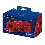 Hori - Mando Mini Con Cable, Color Rojo (PS4)