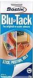 BOSTIK Blu-Tack riutilizzabile adesivo 75g [blue - 4 strips/pack) Blue