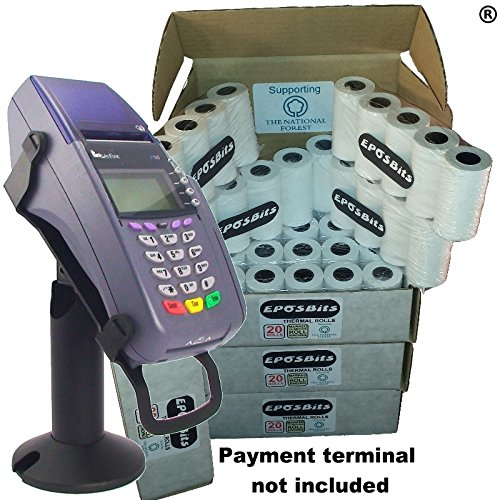 eposbits® Marke Medium Größe Rolls to Fit Verifone VX510vx-510VX 510Kreditkarte Terminal?80Rollen?4Boxen (Chip & Pin) Vx-terminal