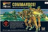 28mm WW2 Britische Kommandos 25 Plastikfiguren - Bolzenaktion Wargaming Miniaturen - Royal Marines
