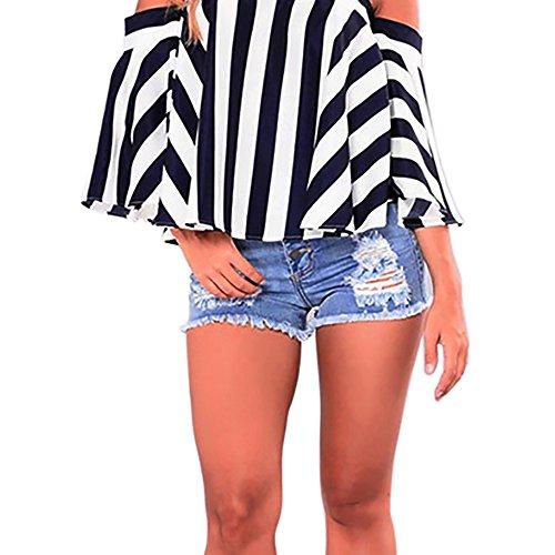 Yusealia Frauen Jeans Solide Casual Loch Sommerknopf Mini Hot Shorts Kurze Hosen Damen Jeans Shorts Strumpfhosen Hosen Kurze Breathable Hose Pants - Mini Strumpfhose