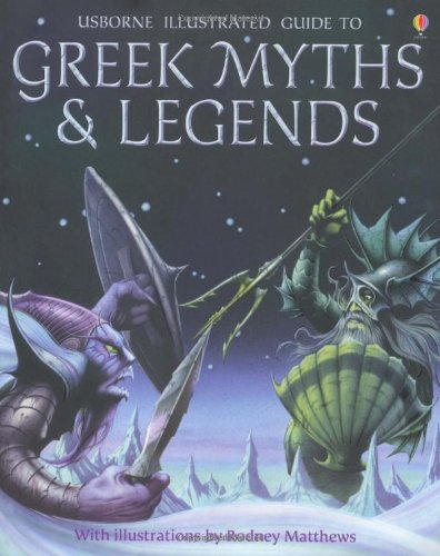 Greek Myths and Legends (Usborne Myths & Legends) por Cheryl Evans