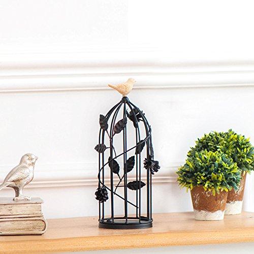 supporto di candela birdcage European-style/Ornamenti in ferro battuto la cena romantica a lume di candela/[supporto di candela]/ Creative Lanterna-B