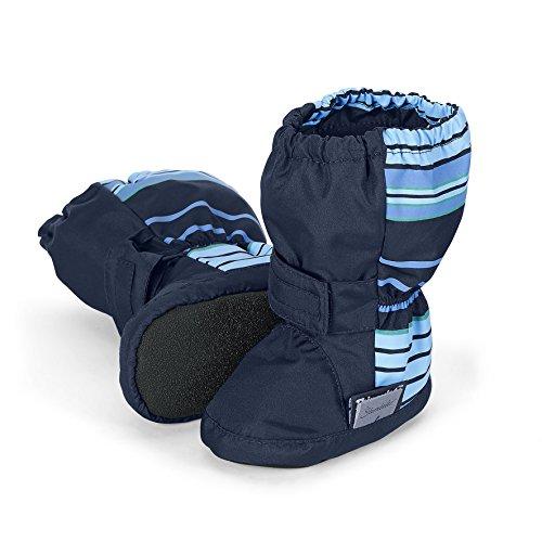 Sterntaler Baby Jungen Schuh Krabbelschuhe, Blau (Marine 300), 18 EU